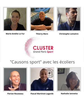 COVID-19 : « Causons sport en classe virtuelle » continue de plus belle !